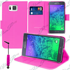 Case Cover Wallet Video Samsung Galaxy Alpha/ Alfa (S801) SM-G850W