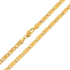 Women's Exquisite 45cm 9K Gold Filled Chain Necklace Stainless Steel Jewelry