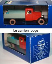 ATLAS-Tim und Struppi-TINTIN CAR-Le camion rouge-LE LOTUS BLEU-Modell-very rare