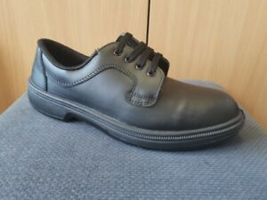 Men's Black Steel Toe Cap Shoes Workwear Safety *Brand New * Size 9