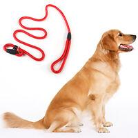 Dog Leash Whisperer Cesar Millan Style Slip Training Nylon Lead Collar Rope 1cm