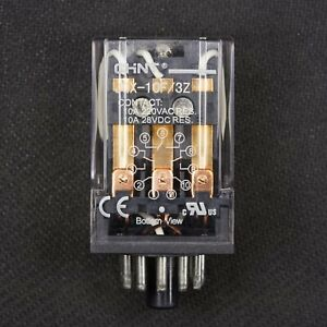 NEW 11 Pin Octal Base 110V AC Relay 3PDT General Purpose Plug In Ice Cube 10A