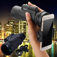 12x50 Universal Camera Lens Zoom Telescope + Holder Clip kit for Smart Phone