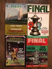 FA Cup Final Programmes 1963-1984
