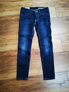 Polo Ralph Lauren Girls Navy Blue Skinny Jeans Age 8 Excellent Condition