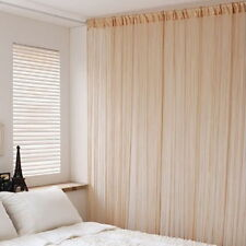 New String Curtains Patio Net Fringe Panel For Door Screen Windows Divider 1*2M