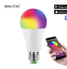 EEEkit WiFi Smart LED Bulb with App Control - 2 Pieces Multicolor
