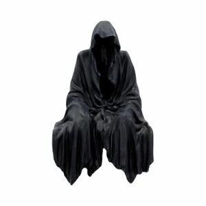 Nemesis Now Darknes Réside Effrayant Faucheuse Assis Étagère Figurine U1734E5