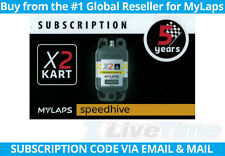 MyLaps X2 Subscription 5-year Renewal Card for Kart Rechargeable Transponder