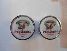 Vintage style Pogliaghi Handlebar End Plugs