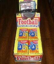 2 1985 Topps Football Unopened Wax Packs