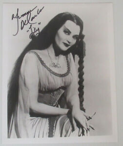 THE MUNSTERS – LILY. Signed by Yvonne De Carlo. COA.