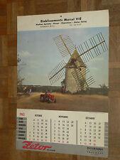 Calendrier Tracteur ZETOR 1965 MOTOKOV Tractor Traktor affiche calendar poster