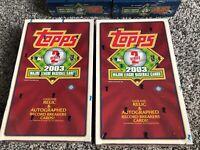 2003 Topps Major League Baseball Cards Series 2 - Unopened Hobby Box Of 36 Packs