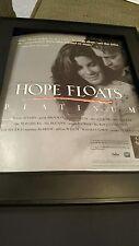 Hope Floats Rare Original Soundtrack Promo Poster Ad Framed!