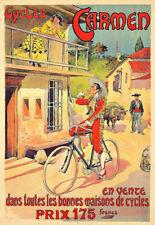 Bicycle Bike Cycles Carmen Cycle Deco  Poster Print