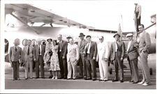 Vintage Hawaii Photo, Inter Island Airways, Hawaii airplane & group,  pb3