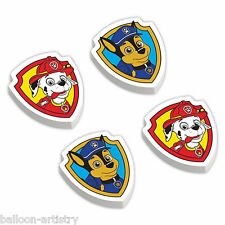 12 Paw Patrol Rescue RED Children's Birthday Party Loot Gifts Favours Erasers