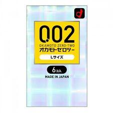 OKAMOTO Japan 0.02 Large Size 6pcs 002 Thin - limited stock