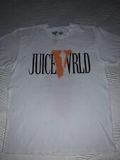 Juice WRLD X VLONE White T Shirt - L - Authentic. WORN ONE TIME