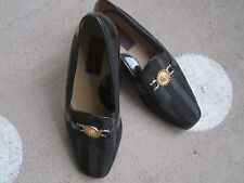Giorgio Brutini Mens Private Collection black Fabric leather Shoes Sz 11M Mint