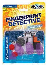 Fingerprint Detective Thames & Kosmos Spark Science Experiment Kit Educational