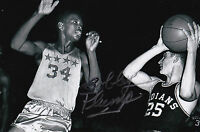 Bobby Plump Signed 4x6 Inch Photo 1954 Milan Indians Hoosiers Indiana Basketball