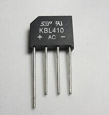 RADDRIZZATORE A PONTE KBL10 4x 1000V 4A KBL componenti DC