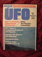 Rare ARGOSY UFO Special Annual Edition Magazine 1977 Ivan Sanderson