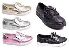 Zapatillas deportivas de mujer plana sin marca sintético