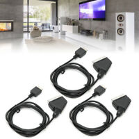 1080P HDMI Male S-video to 5 RCA AV Audio Cable Cord Adapter for Sony/PS2/PS3