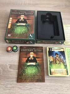 Lovecraft Letter von Peagasus-Spiele vollständig und TOP ZUSTAND
