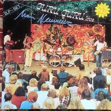 GURU GURU - GURU GURU LIVE Ultrarare 1978 signed german KRAUTROCK G/F LP! EX+