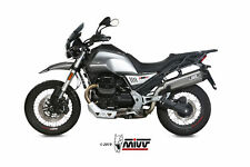 SCARICO MIVV SPEED EDGE COMPATIBILE PER MOTO GUZZI V85 TT 2019 > INOX SLIP-ON