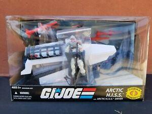 G.I. Joe 25th Anniversary Cobra Arctic HISS Tank & Driver Amazing Condition