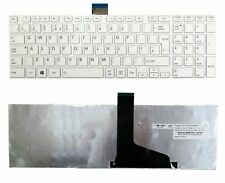 TOSHIBA SATELLITE L850-19E L850-1C4 Laptop Keyboard Black UK Silver Frame