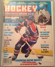 HOCKEY ILLUSTRATED SPECIAL 83/84  WAYNE GRETZKY COVER