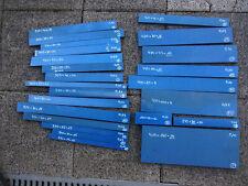 PPS Kunststoff Blau CNC Fräse Zuschnitt Halbzeuge Stange Rohling Konvolut
