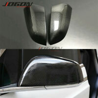 Carbon Fiber Car Side Wing Rearview Mirror Cover For Tesla Model S 2016- 2019