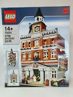 LEGO Creator Town Hall (10224) - Brand New Check Box Condition in Photos