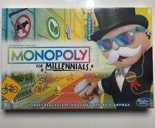 Monopoly for Millennials Millenials Edition Board Game Ages 8+ Black Friday sold