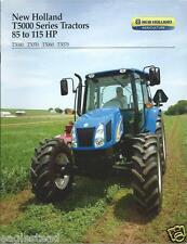 Farm Tractor Brochure - New Holland - T5040 et al T5000 series - 2010 (F3154)