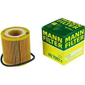 Mann-filter Oil Filter HU7002z fits MAZDA BT-50 B22,B32,UP,UR 2.2 MZ-CD
