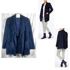 Alfani Womens Plush Cozy Wrap Robe & Socks Set Indigo Choose Size New