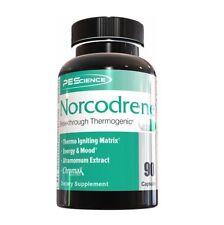 PES NORCODRENE Breakthrough Thermogenic Fat Burner Energy Mood - 90 capsules