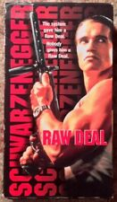 """""""Raw Deal"""" VHS Arnold Schwarzenegger"""