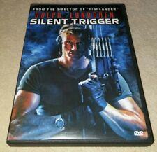 Silent Trigger DVD Dolph lundgren RARE oop