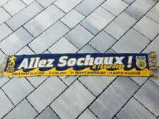 Écharpes de collection de clubs français sur le sport