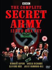 Secret Army (Complete Series) NEW PAL Cult 12-DVD Set Bernard Hepton A. Richards