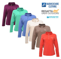 Regatta Womens/Ladies Sweethart Half Zip Micro Fleece